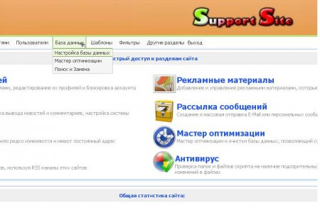 Joomla Admin Skin (Russian version by Dr. Soft)