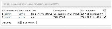 Модуль SPAM BUTTON in PM v.1.0